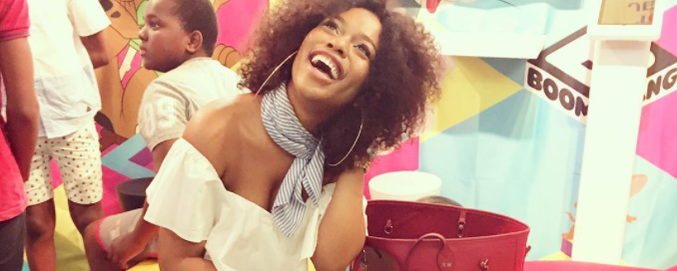 Nomzamo Mbatha is not ready for a SAFTA... yet!