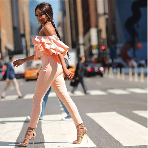 Bonang at NYFW 1