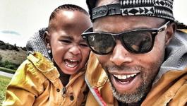 Thapelo and Lereko Mokoena