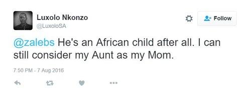 African tweet