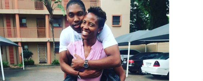 Caster Semenya and Violet are an epitme of true love