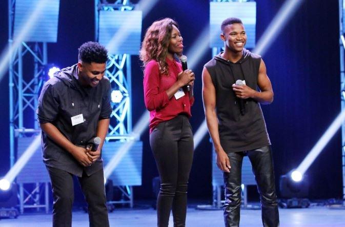 Idols SA thami and his group